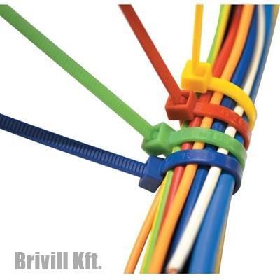Színes kábelkötegelő